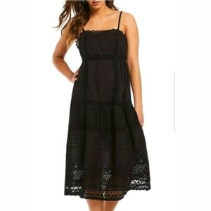 Free People This Is It Cotton Lace Dress S